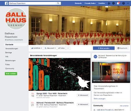 Ballhaus Rosenheim: Veranstaltungen und Events in Rosenheim